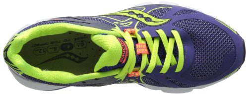 Saucony Damen Damen Mirage 4 Laufschuh Purple/Citron/Vizicoral