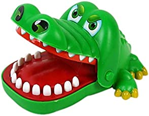 AST Works Mouth Tooth Alligator Hand Children's Toys Classic Biting Hand Crocodile Game