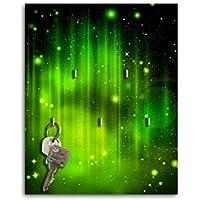 Portachiavi da parete con Design stelle chiarore chiave Board chiavi ganci SB476