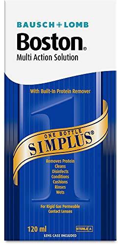 Bausch & Lomb - Boston Simplus - Soluzione unica per lenti a contatto RGP 120ml