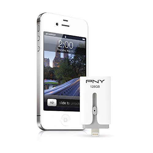 Pny Duo Link USB 3.1 128GB Pen Drive (White)