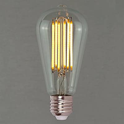 Dimmable Vintage LED Edison Light Bulb 6w (60w) - Squirrel Cage 64mm ES E27 - The Retro Boutique ®