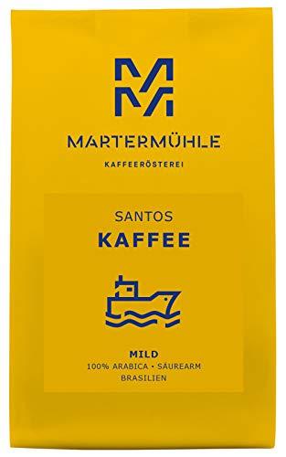 Kaffee Santos 250g Gemahlen - Premium Kaffee Von Der Kaffeerösterei Martermühle: Kaffeebohnen...