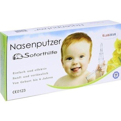 Klugzeug Nasenputzer Soforthilfe Nasensauger, 1 St. - 2
