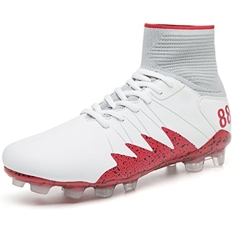 QLVY Chaussures de pour Hommes Football Sport Bottes de Chaussures Football Chaussures Spike High-Top d'extérieur Confortable... - B07DB2JDWG - 250b36