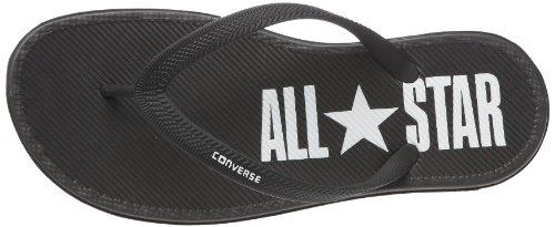 Converse Sandstar Solid, Unisex - Erwachsene Zehentrenner Schwarz (Noir/Blanc)