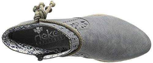Rieker Y0736, Stivaletti Donna Blu (jeans / 14)
