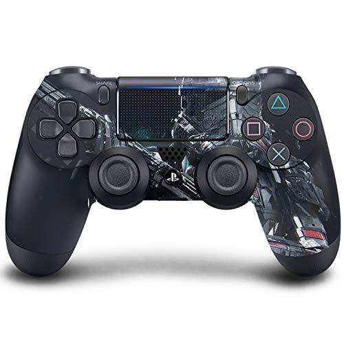 PS4 DualShock Manette sans Fil Pro Console - Manette PlayStation4 avec Prise en Main Douce et Skin Exclusive Version personnalisée (PS4-Starwars)