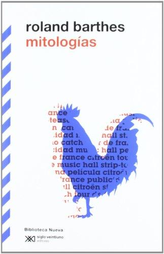 Mitologías por Roland Barthes