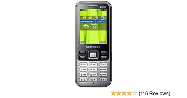 Samsung Metro Duos GT-C3322 (Midnight Black)  Amazon.in  Electronics caf32860442