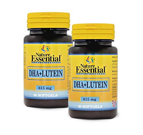 Nature Essential DHA y Luteína - 50 Cápsulas (Pack 2 u.)
