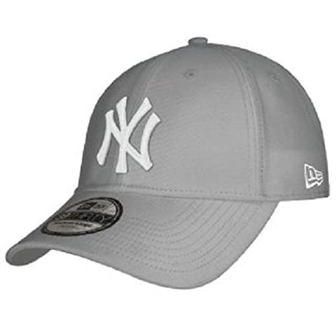 New Era 10298279 - Casquette de Baseball - Homme - Gris (Grey) - Medium (Taille fabricant: S/M)