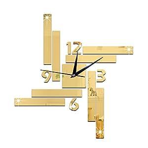 FEI&S Background divano soggiorno orologio da parete Orologi tecnologia digitale pareti a specchio ,orologio da parete #16