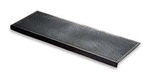 Floordirekt tapis en caoutchouc 25 x 75 cm-antidérapant pour marches extérieures ou intérieures différentes (unités - 5 pack)
