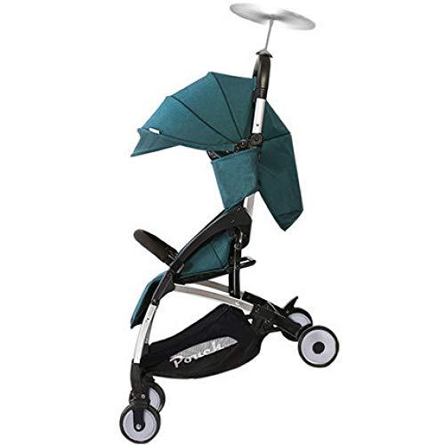 Rwdacfs Kinderwagen Leichter Faltbarer Kinderlaufkatze, kann auf dem Flugzeugbabyregenschirm verwendet Werden, geeignet für das Baby, das zu 15kg geboren ist - Wickeltische Babybetten Und