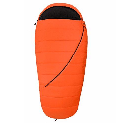 Qeedo Buddy XL Schlafsack in Eiform inkl. Kissen - Extra Lang und Breit, 225 x 100 cm (LxB)