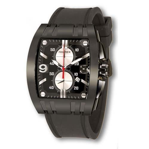 haurex italy 3n326unn mens mangusta black dial watch