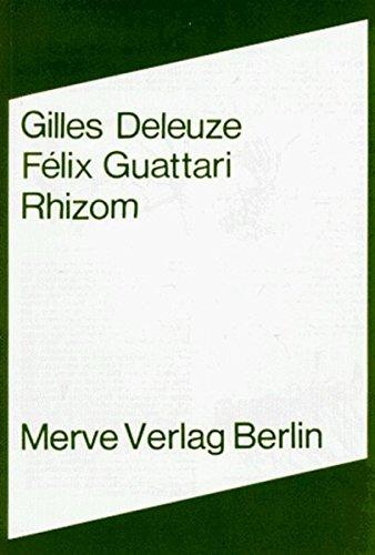 Rhizom (Internationaler Merve Diskurs)