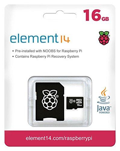 419paNPGG8L - Raspberry Pi 3 Official Starter Kit Black, con Cargador Oficial, Caja Oficial, microSD Oficial de 16GB con NOOBS, Cable HDMI y disipadores