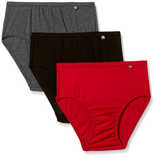 Jockey Women's Hipster (Pack of 3) (1406_Dark Assorted_L)