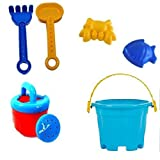 #7: Shoppers Trend Summer Beach Toy -Blue and Random Multi Color for Boys and Girls