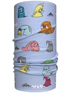 HAD Pañuelo Head Accessoires Kids para niño, Monster Family Lilac KF (familia Monster lila), talla única, HA120...