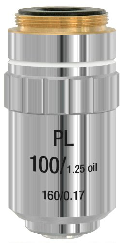Bresser Mikroskop Objektiv planachromatisch DIN-PL 100x (Öl)