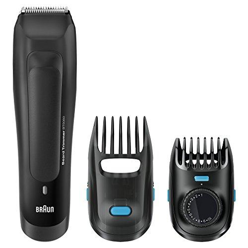Braun BT 5050 - Recortadora de barba eléctrica recargable de precisión con...