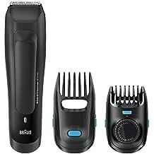 Braun BT 5050 - Recortadora de barba eléctrica recargable de precisión con ajustes de longitud cada 0,5 mm