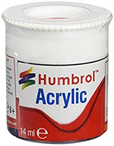 Humbrol - Pintura acrílico, Color Arrow Red (Hornby AB0238)