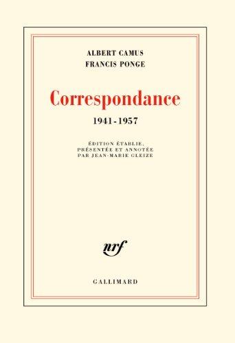 Correspondance (1941-1957) por Albert Camus