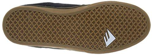 Emerica The Reynolds Low Vulc, Chaussures de skateboard homme Bleu (Navy/Gum 460)