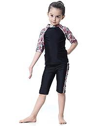 Kinder Muslim UV-Sonnenschutzkleidung Modest Bademode Badeanzug Schwimmanzug 146