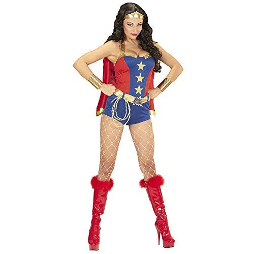 Widmann wdm98593?Costume Super Powers Girl, multicolore, Large