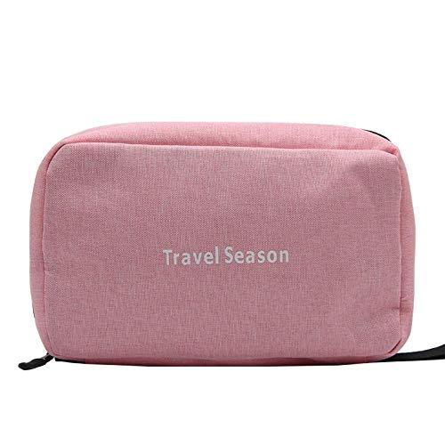 Gefaltete große Kapazität kleine quadratische Tasche Canvas Kosmetiktasche -