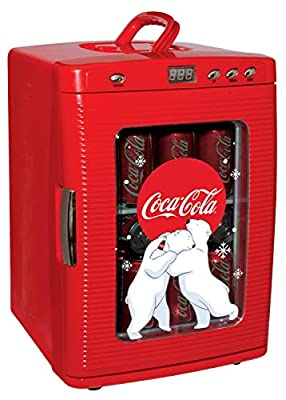Coca Cola KWC-25 Display Cooler, RED