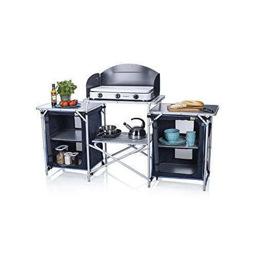 419pgYqn26L. SS500  - Campart Travel KI-0732 Camping Kitchen Malaga, 172 x 48 x 79.5/110.5cm