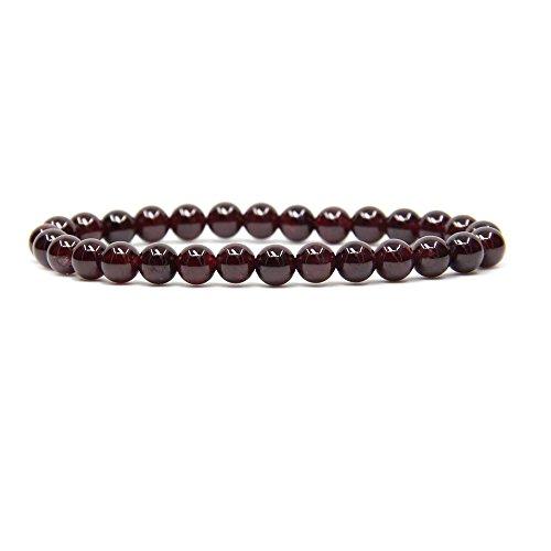 natural-a-grade-red-garnet-gemstone-6mm-round-beads-stretch-bracelet-7-unisex