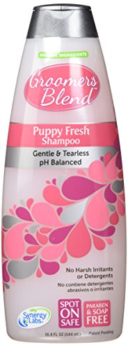 Artikelbild: SynergyLabs Groomer's Blend Puppy Fresh Shampoo; 18.4 fl. oz. by SynergyLabs