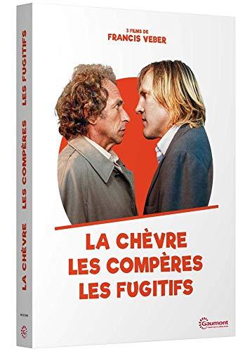 Coffret francis veber, vol. 1, 3 films : les compères ; le fugitif ; la chèvre [FR Import]