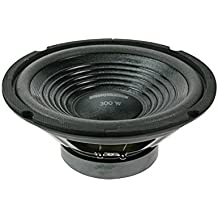 "HQ Power Spare woofer 12"" for VDSG12 300W Negro altavoz - Altavoces (Piso, Empotrado en pared/techo, Montar en la pared, 30,5 cm (12""), 300 W, 25 - 20000 Hz, 8 Ω, 91 dB)"