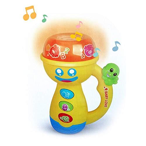 (Musik LED Projektor Taschenlampe Tragbare Weihnachten Beschwichtigen Projektor Lichter Kinder Spielzeug Projektionsgeschichte Kinderreime für Geburtstag/Party/Halloween/Ostern)