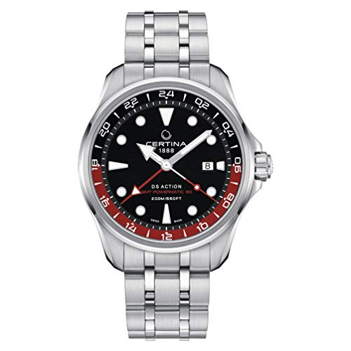 Certina DS Action GMT Powermatic 80 Armband Stahl C032.429.11.051.00