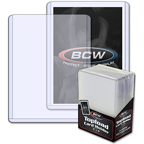 (100) BCW Standard Topload Card Holder Magic