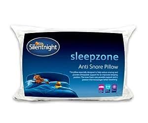 silentnight sleepzone anti snore orthopaedic pillow. Black Bedroom Furniture Sets. Home Design Ideas