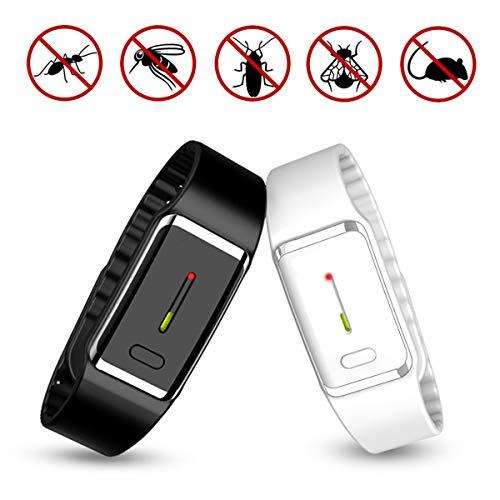 Mückenschutz Armband Mücken, USB Armbänder Wiederaufladbare Bänder