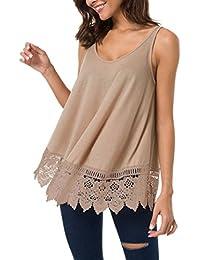 99a288c79459 Amazon.es: ropa hippie - S / Camisetas sin mangas / Camisetas, tops ...