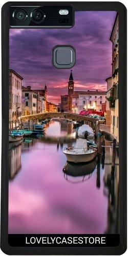 silikonhulle-fur-huawei-p9-plus-canal-visit-venedig-italien-boot-lagune-gondole