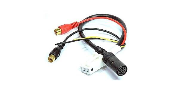 PANASONIC CD Wechsler Adapter Kabel Audi Seat Skoda VW CX-DP 600 803 9060 9061