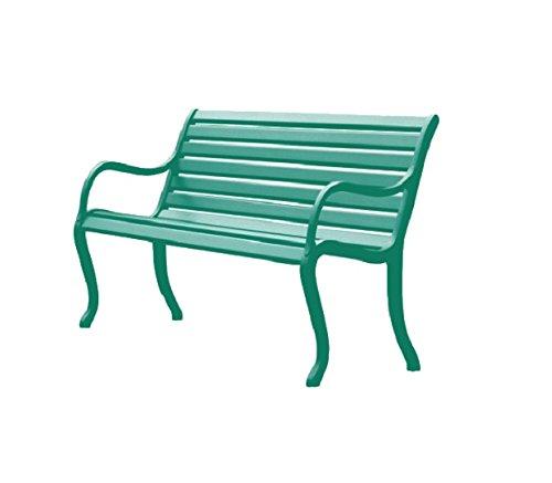 Fast Oasis Gartenbank 2 Plätze cm. 127 Art. 592 Farbe dunkel Grün